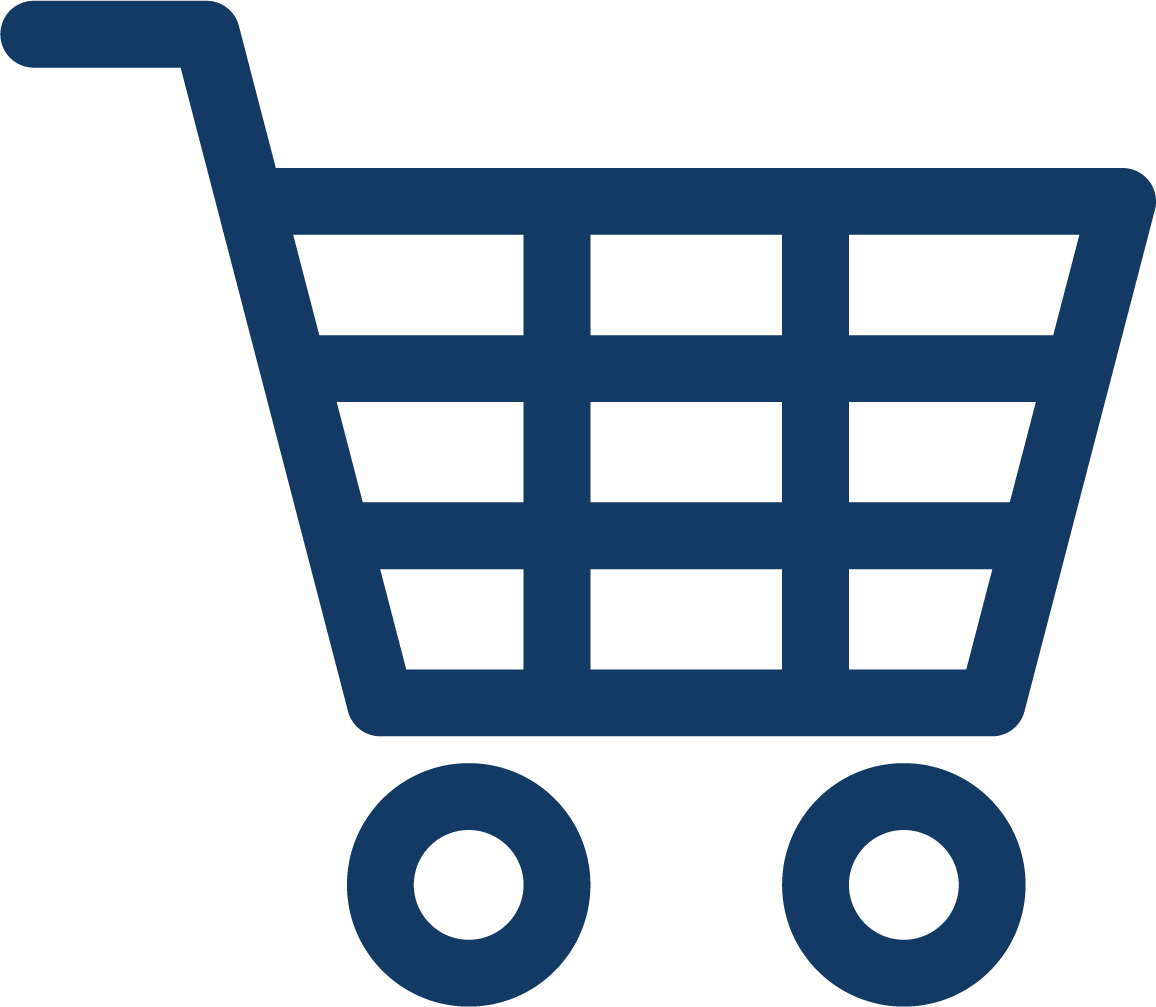 retail shopping cart icon